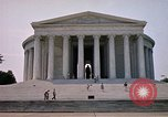 Image of Jefferson Memorial Washington DC USA, 1962, second 4 stock footage video 65675047501