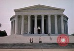 Image of Jefferson Memorial Washington DC USA, 1962, second 8 stock footage video 65675047501