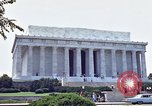 Image of Lincoln Memorial Washington DC USA, 1962, second 2 stock footage video 65675047505