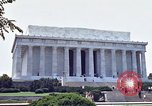 Image of Lincoln Memorial Washington DC USA, 1962, second 3 stock footage video 65675047505