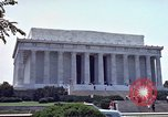 Image of Lincoln Memorial Washington DC USA, 1962, second 4 stock footage video 65675047505