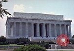 Image of Lincoln Memorial Washington DC USA, 1962, second 5 stock footage video 65675047505