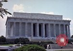Image of Lincoln Memorial Washington DC USA, 1962, second 7 stock footage video 65675047505