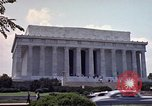 Image of Lincoln Memorial Washington DC USA, 1962, second 8 stock footage video 65675047505