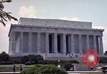 Image of Lincoln Memorial Washington DC USA, 1962, second 9 stock footage video 65675047505