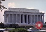 Image of Lincoln Memorial Washington DC USA, 1962, second 10 stock footage video 65675047505