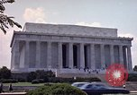 Image of Lincoln Memorial Washington DC USA, 1962, second 11 stock footage video 65675047505