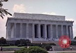 Image of Lincoln Memorial Washington DC USA, 1962, second 12 stock footage video 65675047505