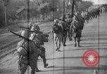 Image of Japanese troops on the Road to Mandalay Burma, 1942, second 9 stock footage video 65675047519