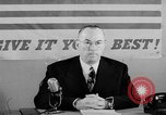 Image of Donald M Nelson Washington DC USA, 1943, second 8 stock footage video 65675047521