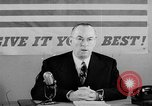 Image of Donald M Nelson Washington DC USA, 1943, second 9 stock footage video 65675047521
