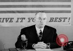 Image of Donald M Nelson Washington DC USA, 1943, second 12 stock footage video 65675047521