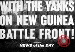 Image of United States troops New Guinea, 1943, second 1 stock footage video 65675047524