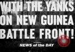 Image of United States troops New Guinea, 1943, second 2 stock footage video 65675047524