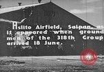 Image of Captured Japanese airfield in World War II Aslito Airfield Saipan Mariana Islands, 1944, second 5 stock footage video 65675047536