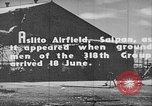 Image of Captured Japanese airfield in World War II Aslito Airfield Saipan Mariana Islands, 1944, second 6 stock footage video 65675047536