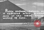 Image of Captured Japanese airfield in World War II Aslito Airfield Saipan Mariana Islands, 1944, second 7 stock footage video 65675047536