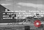 Image of Captured Japanese airfield in World War II Aslito Airfield Saipan Mariana Islands, 1944, second 9 stock footage video 65675047536