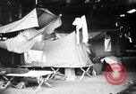 Image of U.S. troops setting up camp on captured Japanese base Aslito Airfield Saipan Mariana Islands, 1944, second 7 stock footage video 65675047542