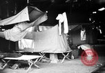 Image of U.S. troops setting up camp on captured Japanese base Aslito Airfield Saipan Mariana Islands, 1944, second 8 stock footage video 65675047542