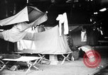 Image of U.S. troops setting up camp on captured Japanese base Aslito Airfield Saipan Mariana Islands, 1944, second 9 stock footage video 65675047542