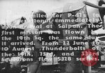 Image of US Army Air Forces 318th Fighter Group P-47 aircraft  Aslito Airfield Saipan Mariana Islands, 1944, second 2 stock footage video 65675047544