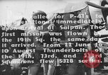 Image of US Army Air Forces 318th Fighter Group P-47 aircraft  Aslito Airfield Saipan Mariana Islands, 1944, second 3 stock footage video 65675047544