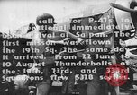 Image of US Army Air Forces 318th Fighter Group P-47 aircraft  Aslito Airfield Saipan Mariana Islands, 1944, second 5 stock footage video 65675047544