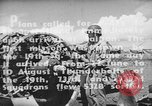 Image of US Army Air Forces 318th Fighter Group P-47 aircraft  Aslito Airfield Saipan Mariana Islands, 1944, second 9 stock footage video 65675047544