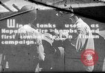 Image of Improvised napalm bombs on P-47 aircraft Aslito Airfield Saipan Mariana Islands, 1944, second 1 stock footage video 65675047545