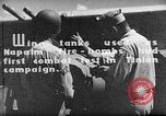 Image of Improvised napalm bombs on P-47 aircraft Aslito Airfield Saipan Mariana Islands, 1944, second 2 stock footage video 65675047545