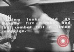 Image of Improvised napalm bombs on P-47 aircraft Aslito Airfield Saipan Mariana Islands, 1944, second 6 stock footage video 65675047545