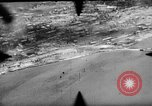 Image of P-47s of 19th Fighter Squadron attack Japanese positions Tinian Island Mariana Islands, 1944, second 5 stock footage video 65675047548