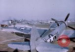 Image of P-47 Thunderbolt fighter planes Germany, 1945, second 6 stock footage video 65675047564