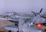 Image of P-47 Thunderbolt fighter planes Germany, 1945, second 7 stock footage video 65675047564