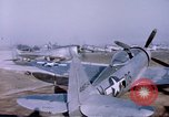 Image of P-47 Thunderbolt fighter planes Germany, 1945, second 8 stock footage video 65675047564