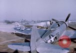 Image of P-47 Thunderbolt fighter planes Germany, 1945, second 9 stock footage video 65675047564