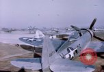 Image of P-47 Thunderbolt fighter planes Germany, 1945, second 10 stock footage video 65675047564