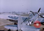 Image of P-47 Thunderbolt fighter planes Germany, 1945, second 12 stock footage video 65675047564