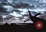 Image of Sparks fly as P-47 lands with right tire missing Belgium, 1945, second 1 stock footage video 65675047577