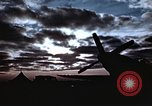 Image of Sparks fly as P-47 lands with right tire missing Belgium, 1945, second 5 stock footage video 65675047577