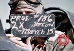 Image of P-47 Thunderbolt fighter pilot Munich Germany, 1945, second 2 stock footage video 65675047582