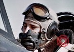 Image of P-47 Thunderbolt fighter pilot Munich Germany, 1945, second 11 stock footage video 65675047582