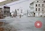 Image of ruins of town Germany, 1945, second 1 stock footage video 65675047585