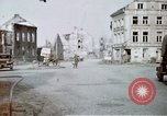 Image of ruins of town Germany, 1945, second 2 stock footage video 65675047585