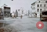 Image of ruins of town Germany, 1945, second 3 stock footage video 65675047585
