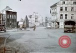 Image of ruins of town Germany, 1945, second 4 stock footage video 65675047585