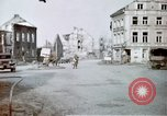 Image of ruins of town Germany, 1945, second 5 stock footage video 65675047585