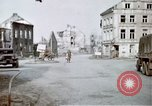 Image of ruins of town Germany, 1945, second 6 stock footage video 65675047585
