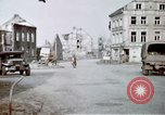 Image of ruins of town Germany, 1945, second 7 stock footage video 65675047585